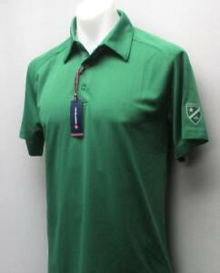 New-Mens-Levelwear-polyester-golf-polo-shirt-Small-The-Donalda-Club