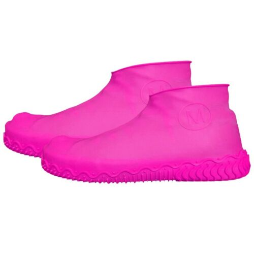 Recyclable Silicone Overshoes Rain Waterproof Shoe Cover Boot Cover Protector US