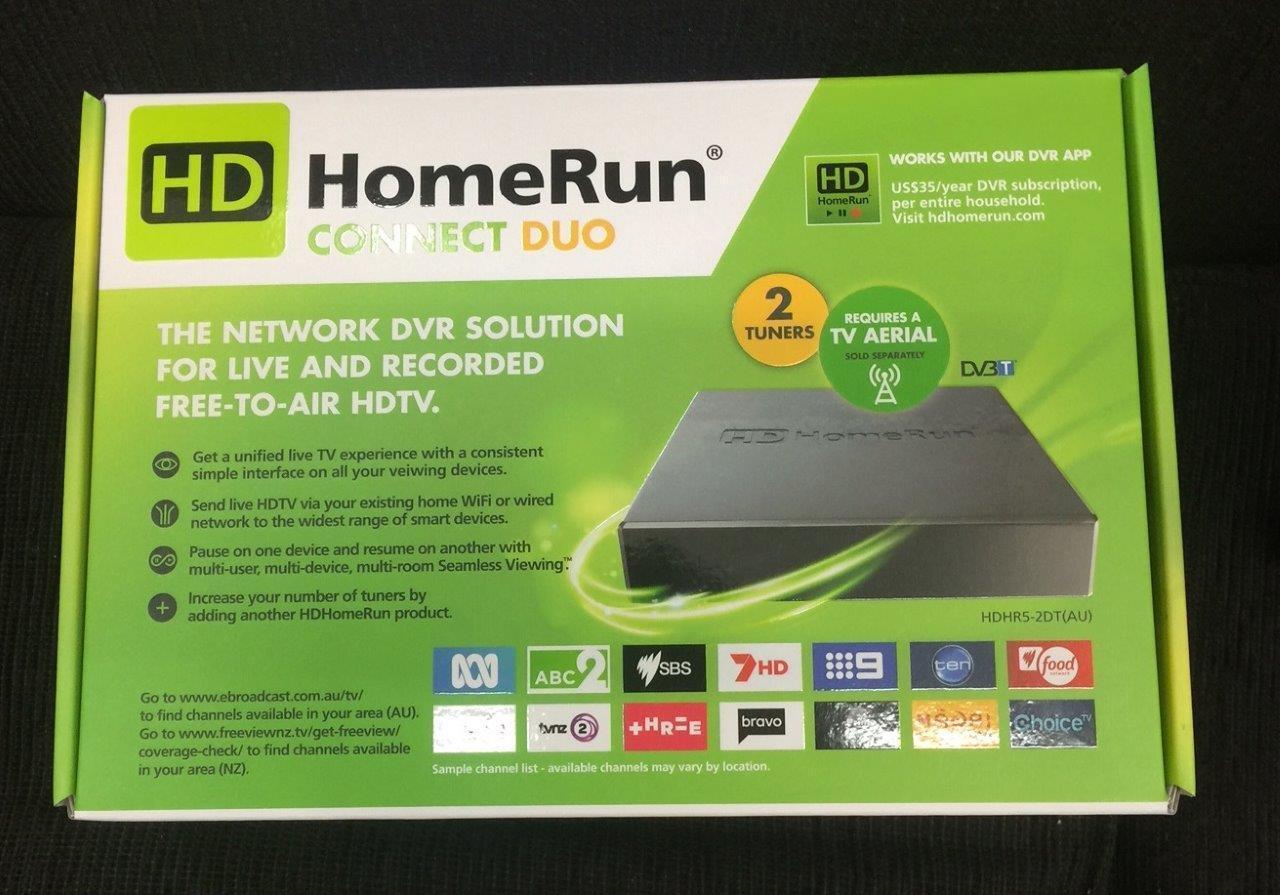 SiliconDust HDHR5-2DT(AU) HDHomeRun CONNECT DUO Gen5 TV Tuner