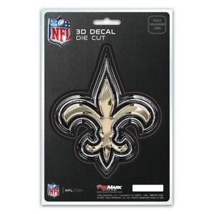 New-Orleans-Saints-Decal-5x8-Die-Cut-3D-Logo-Design