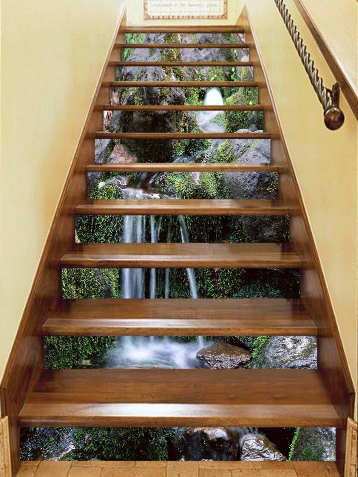 3D Stone Water 899 Stair Risers Decoration Photo Mural Vinyl Decal Wallpaper AU