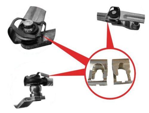 2x für OPEL ASTRA I F II G III H Scheibenwischer Gestänge Reparatur Klammer Kit