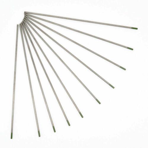 2,4 3,2 Wolfram Elektroden Wolframelektrode WIG Nue Grau Grün Gold Blau 1,6