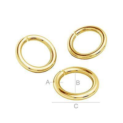 s6 Sterling Silver 925 Jump Rings diameter 6,10 mm multibuy great quality