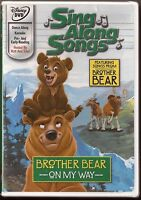 Disney Brother Bear Sing Along Songs on My Way Dvd Brand