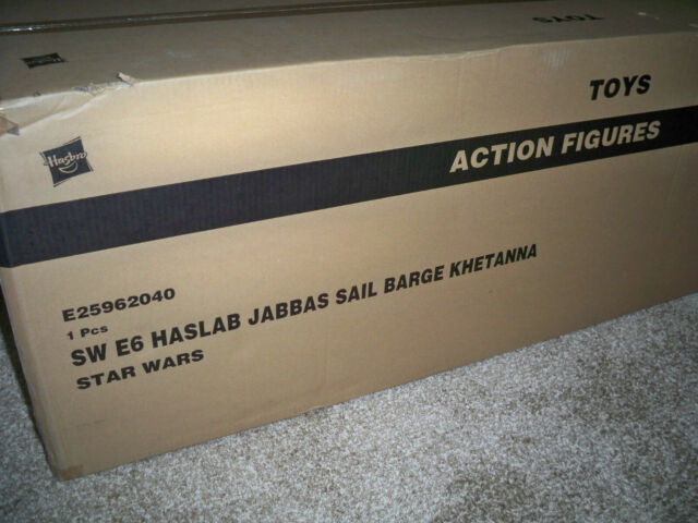 Hasbro Star Wars haslab  Jabba's Sail Barge the Khetanna MISB!