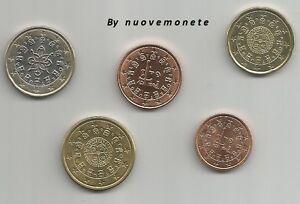 PORTOGALLO PORTUGAL  I PRIMI CENT E EURO ANNO 2002 UNC SCEGLI QUELLI CHE SERVONO