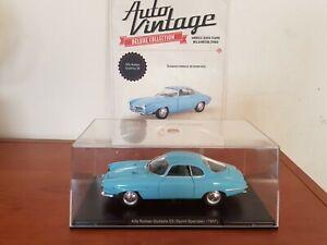 ALFA ROMEO Giulietta SS Sprint  del 1957 Auto Vintage Fabbri 1:24 Diecast metal