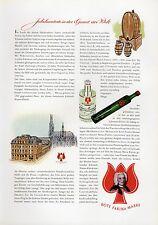 Parfum Rote Farina Gegenüber XXL Reklame 1956 Werbung Ad parfume Cologne Köln