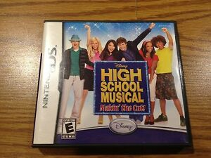 High-School-Musical-Makin-039-the-Cut-Nintendo-Advance-DS-Game-boy-2007