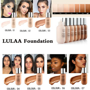 LULAA-Women-Matte-Oil-Control-Concealer-Liquid-Foundation-Cream-Makeup-35ml-US