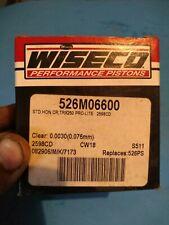 HONDA TRX250R WISECO PISTON KIT 562M06600  66MM  STD BORE 87-89 TRX 250R