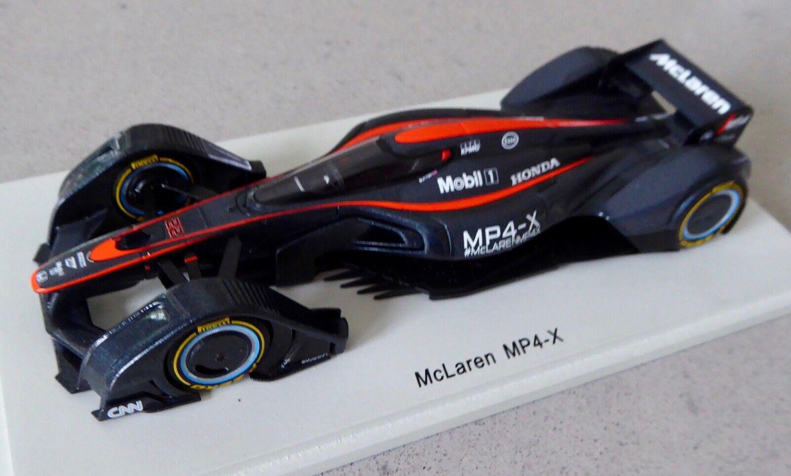 1/43 McLaren MP4-X 2015 - future F1 motorsport technology concept - Spark S4999
