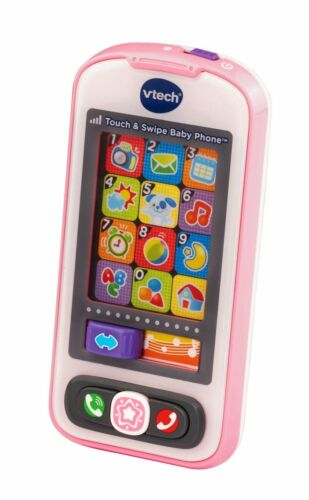 Touch Screen Baby Phone Toy BabyPhone Swipe Smart Phone Kid Pretend Pink Toys