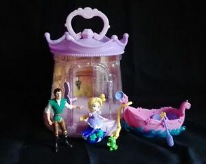 Lot varié Tour de RAIPONCE avec bateau raiponce prince accessoires Hasbro