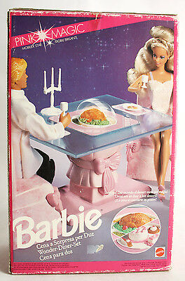 VERY RARE VINTAGE 1991 BARBIE BED PINK MAGIC MATTEL NEW SEALED MISB !