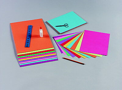 Tru-Ray Brights Construction Paper, 9 x 12 inch, Assorted Colors, 50 Sheets