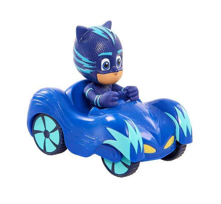 UK Stock 2019 PJ Masks Action Figure Catboy Car Owlette Glider Gekko Mobile Toys 5
