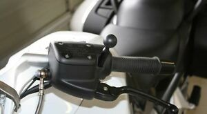 GPS-Ball-Mount-for-BMW-K1200LT-R1150RT-R1200CL-Mounts-off-Handlebar-housing-RAM