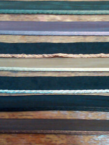 SATIN-TAFFETA-1-16-034-TUBING-PIPING-9mm-1yd-Edging-Miniatures-Dolls-PILLOWS-FRANCE