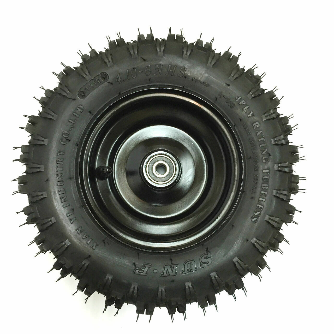 TrailMaster Mini XRX-R Front Wheel & Tire Assembly