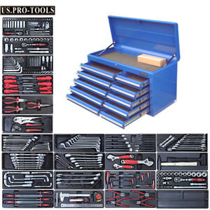 293-US-PRO-TOOLS-Tool-Chest-Box-cabinet-toolbox-finance-available-with-tools