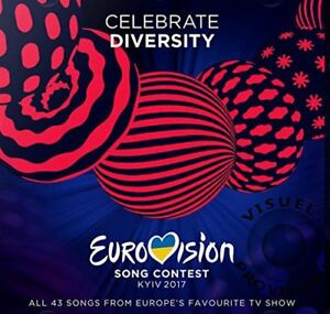 EUROVISION-SONG-CONTEST-KYIV-2017-43-trk-2xCD-album-NEW-SEALED