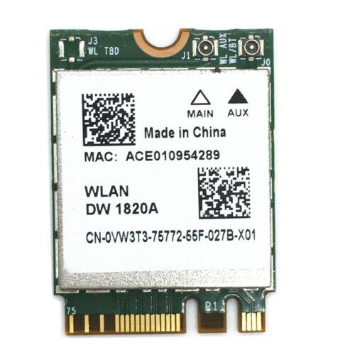 DW1820A BCM94350ZAE 802.11ac Bluetooth 4.1 867Mbps M.2 NGFF WiFi Wireless Card