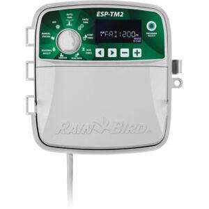 NEW-Rain-Bird-ESP-TM2-8-Station-Irrigation-Controller-120V-Indoor-Outdoor