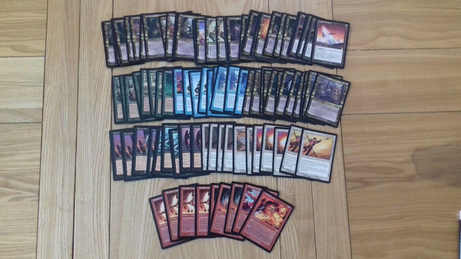 Magic The Gathering Cards - Apocalypse - Rares x 100 cards