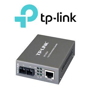 Details about TP-Link MC100CM Fast Ethernet Fiber Optic Media Converter,  Multi-Mode SC