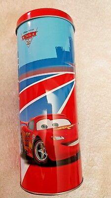 Porta Cannucce Cars 2 Lightning Mcqueen 95 Rosso - Disney - 25 Strawn - Nuovo