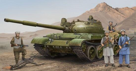 Russian T-62 Mod.1975 Mod.1962  KTD2 Tank Plastic Kit 1 35 Model 1551 TRUMPETER