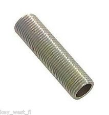 """2"""" Long All Thread Pipe Nipple for Lamp Making & Repair {LOT of 10} ~ by PLD"""