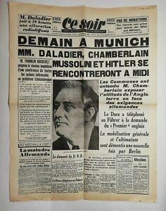 N607-La-Une-Du-Journal-Ce-Soir-28-septembre-1938-Munich-daladier-chamberlain