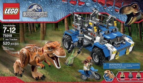 Rex Tracker BRAND NEW SEALED Dinosaurs LEGO 75918 Jurassic Park World T