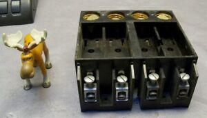 General Switch DP-4 Vintage Fuse Block 60 Amp W/ 4 Screw in Fuse Slots |  eBayeBay