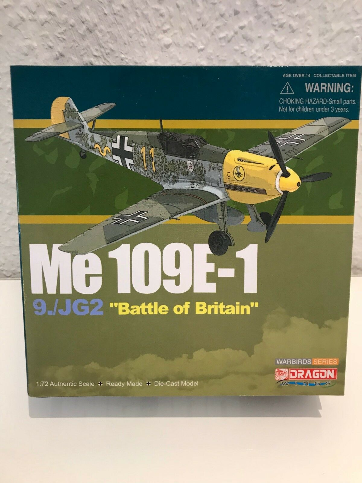 Dragon Models Warbirds 50048 Messerschmitt BF 109E ME 109  Luftwaffe 1942 1 72