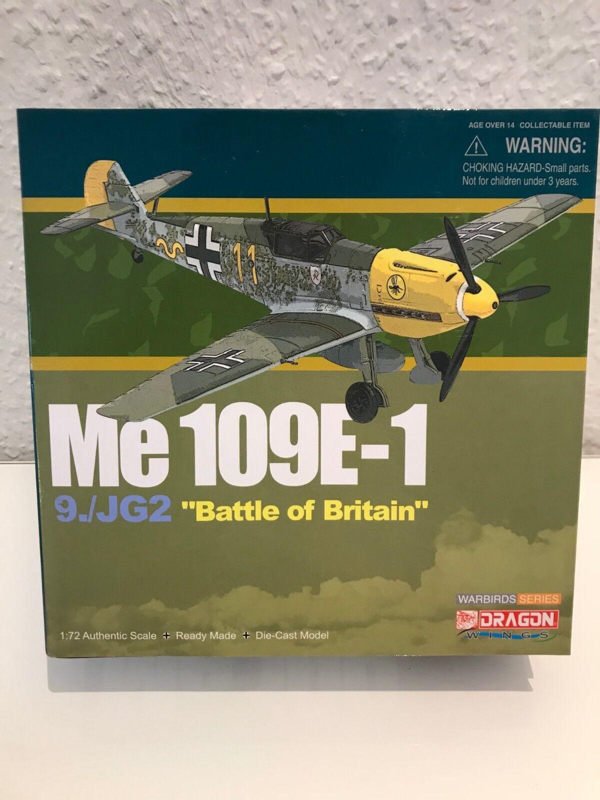 Dragon Models Oiseau 50048 couteau Schmitt BF 109e Me 109 Luftwaffe 1942 1 72