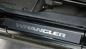 Edelstahl-Carbon-Einstiegsleisten-fuer-Jeep-Wrangler-JL-2018-2020-4-Tuerer