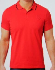 Details zu Puma Polo Shirt Ferrari Größe S Rot Neu