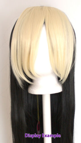 10/'/' Long Clip on Bangs Lavender Purple Cosplay Wig Hair Extension Accessory NEW