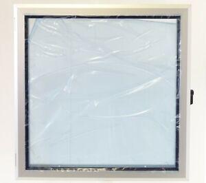 EMKA-Aufsatzfenster-Sichtfenster-Aluminium-Acrylscheibe-420x420mm-Rahmen-30mm