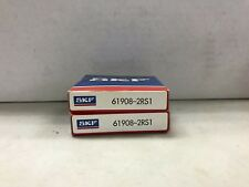 61909-2RS1 SKF New Thin Section Single Row Ball Bearing Size:45mmx68mmx12mm