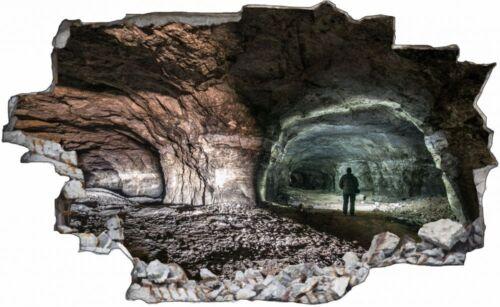 Höhle Forscher Expedition Wandtattoo Wandsticker Wandaufkleber C1038