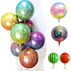 22-039-039-Round-Rainbow-4D-Foil-Balloon-Helium-Christmas-Wedding-Birthday-Party-Decor