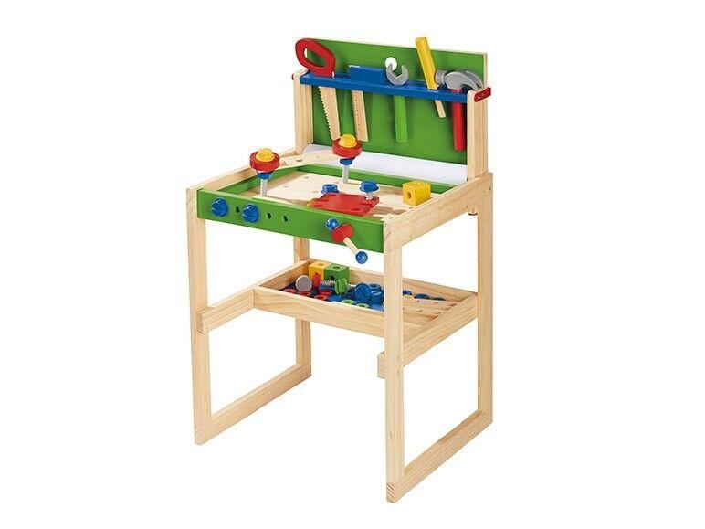 Playtive Junior Toy Workbench 91 Piece set 3-8 years NEW