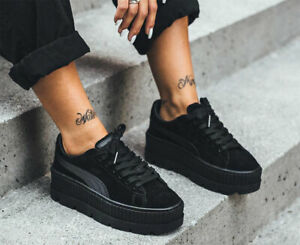 Details about $160 PUMA ONYX FENTY - Rihanna Suede Cleated Creeper Sneakers  9.5