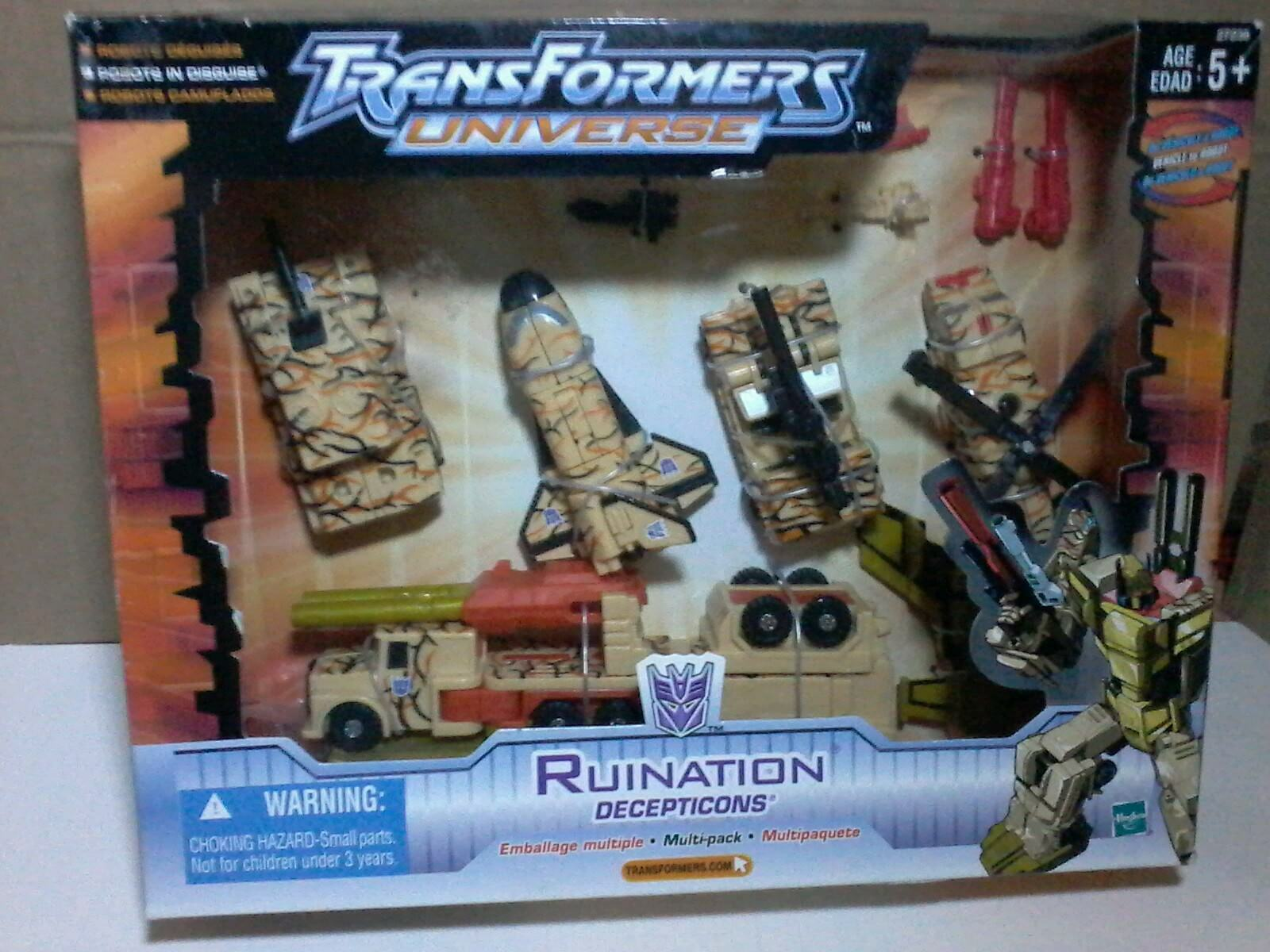 TRANSFORMERS ROBOTS IN DISGUISE RiD RUINATION BRUTICIS CHUG DESERT  CAMOUFLAGE