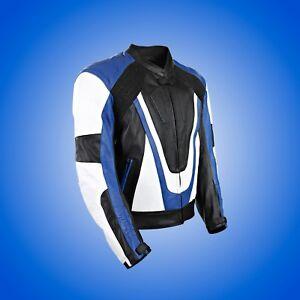 Yamaha-Leather-Black-Retro-Motorcycle-Motorbike-Armoured-Protection-Jacket-Blue